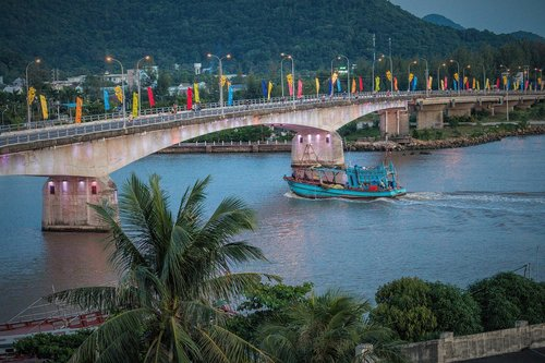 vietnam  bridge  river