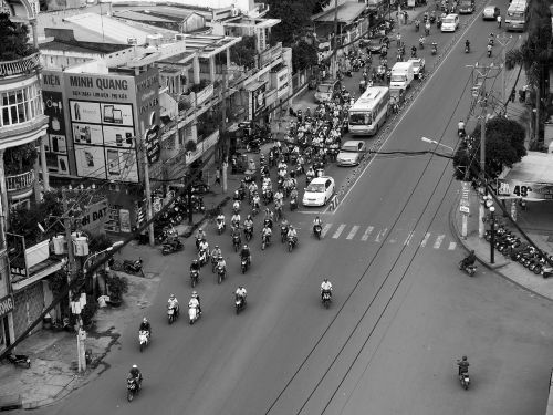 vietnam hanoi motorcycle