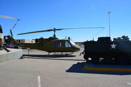 Vietnam Huey Helicopter