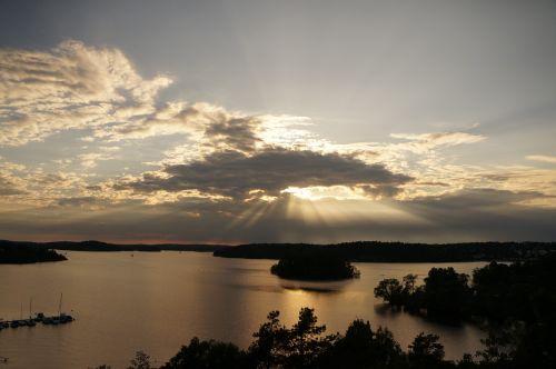 view sky water