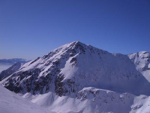 view mountain western tatras