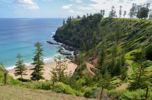 view scenery coast