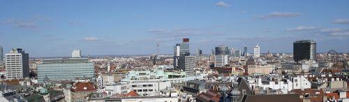 view vienna roofs