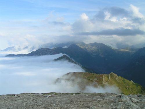 view landscape mountains