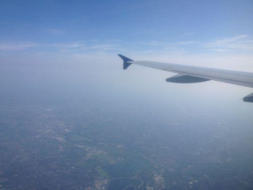 View During Landing