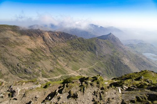 View From The Top Snowdon