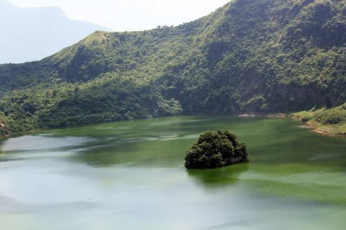 View Inside Taal Lake 3