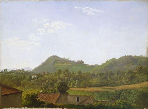 View Near Naples, C. 1806