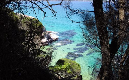 view of bay from imlay park eden nsw australia scenery