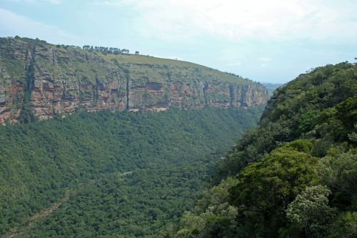 View To The East Of Oribi Gorge