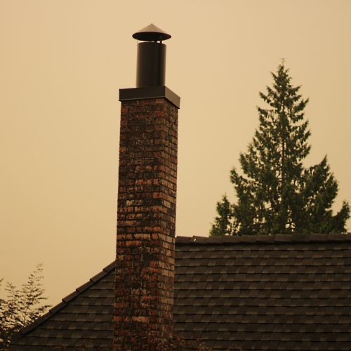 View With A Chimney