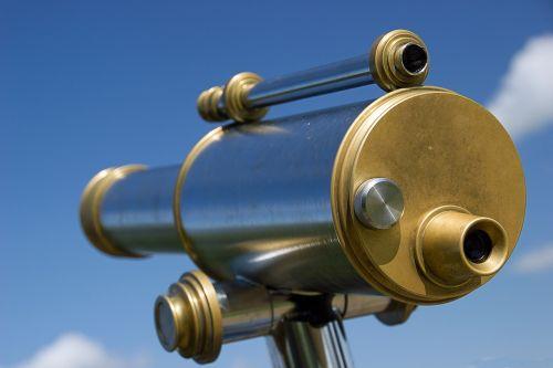 viewer telescope binoculars