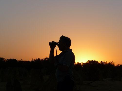 viewer sunset scenic
