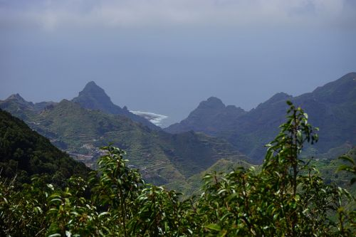 viewpoint tenerife añana salt valley mountains
