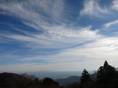 views sky cloud