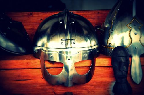 viking helm historically
