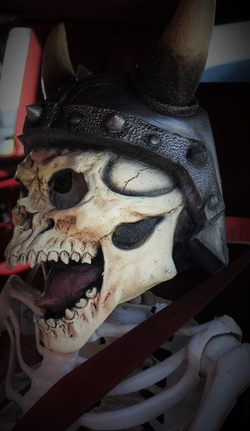 viking viking helmet skull face