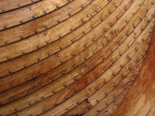 viking ship antiquity wooden boat
