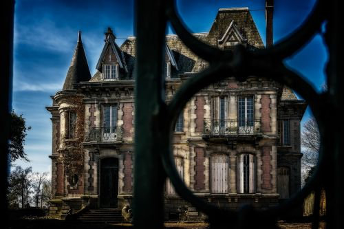 villa home manor house