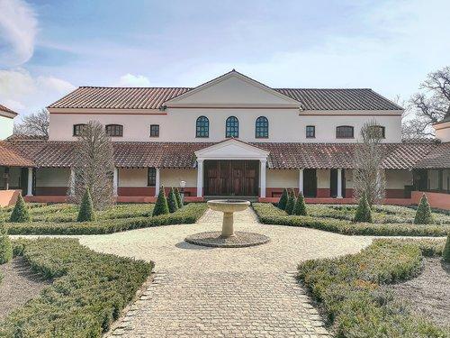 villa  roman villa borg  museum