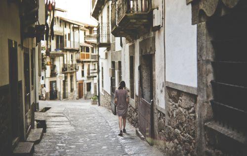 village street architecture