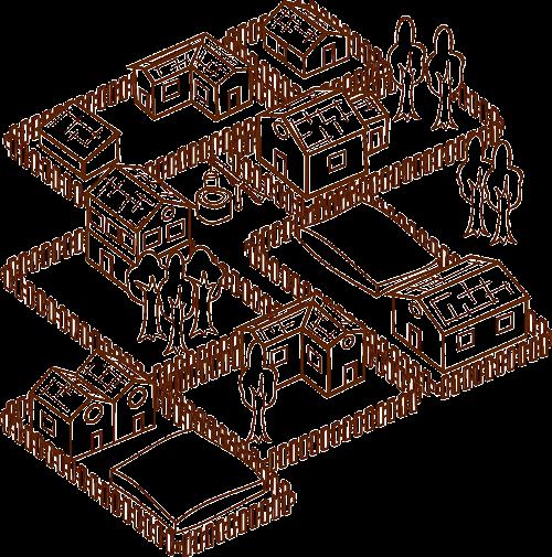 village medieval middle ages