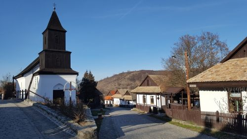 village region hollókő