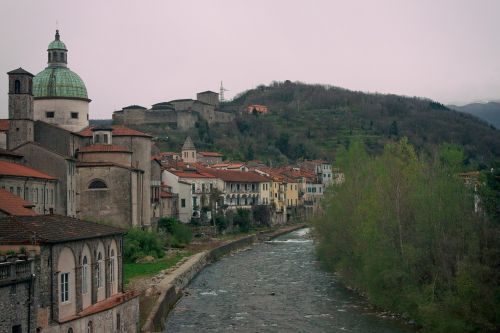 village italy old town