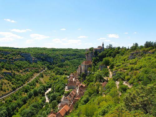 village tourism rocamadour