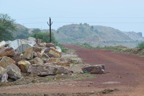 village road india