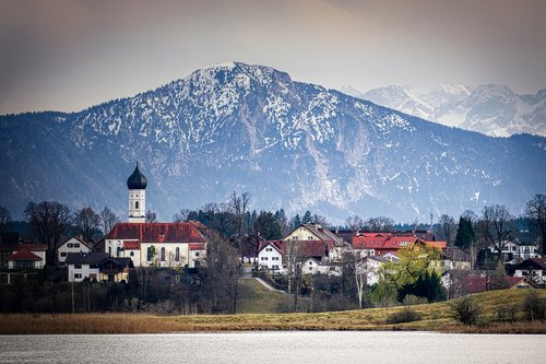 village  iffeldorf  bavaria