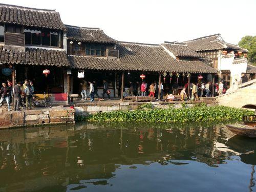 village river water