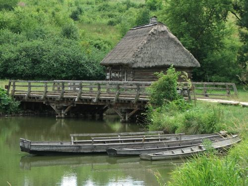 village open air museum poland