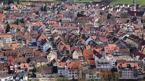 village waldkirch roofs