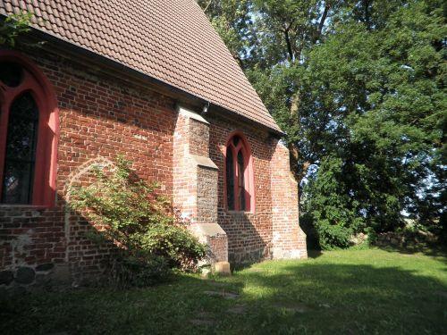 village church brick netzelkow