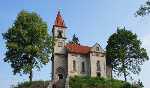 village church  czechia  church