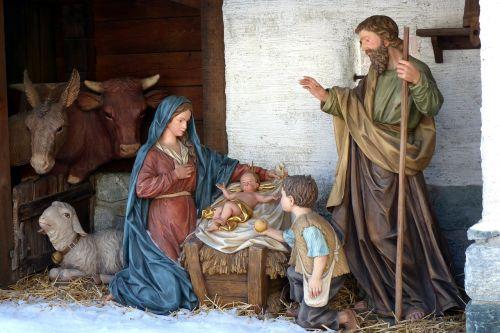 village nativity crib figures