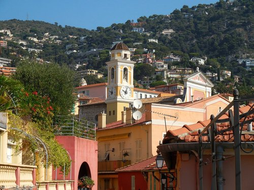 villefranche sur mer  france  french riviera church