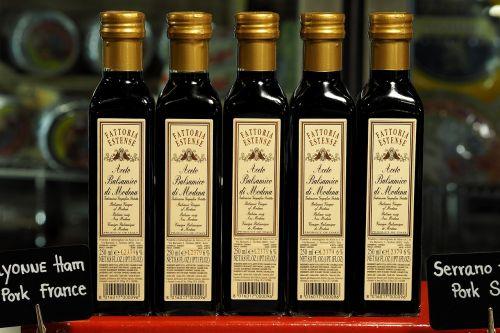 vinegar fermentation glass bottle seasoning