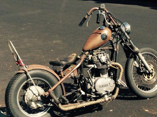 motorcycle chopper vintage