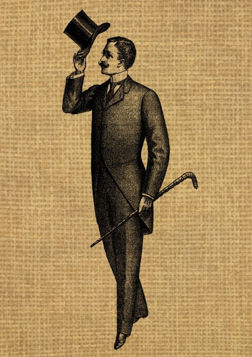 vintage man gentleman