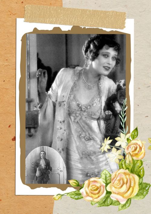 vintage lady portrait