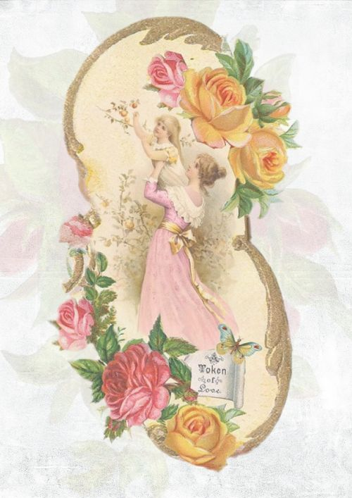 vintage rose design
