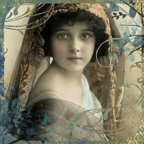 vintage collage digital