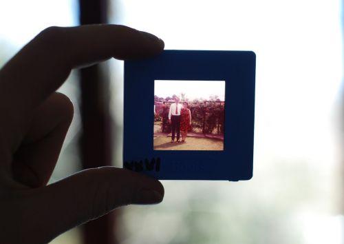 vintage slide family