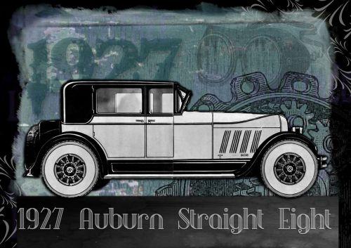 vintage car automobile