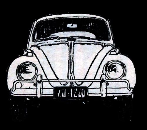 vintage car watercolor