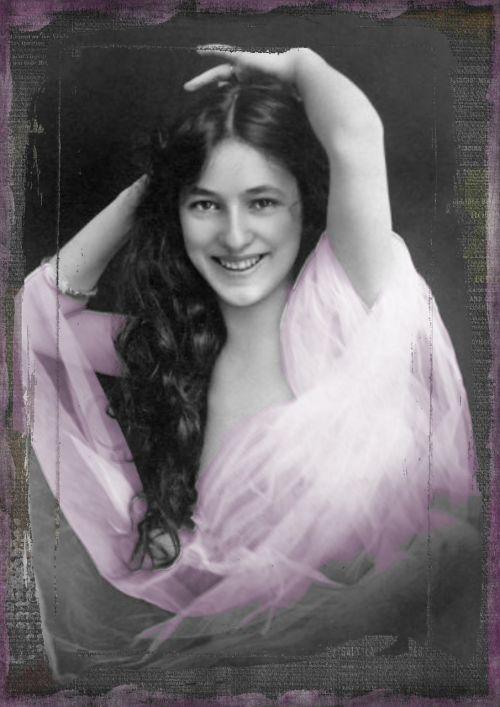 vintage lady edwardian