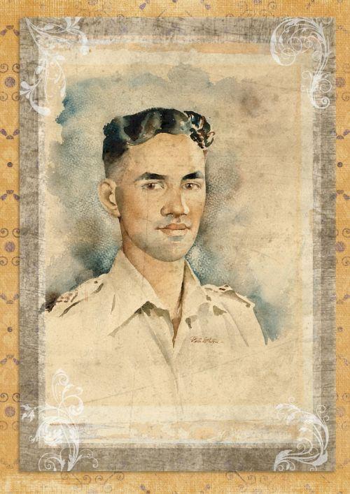 vintage man portrait
