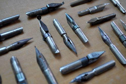 vintage antique pen